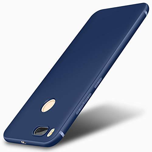 Olwen Shop 1PCSToraise Xiaomi mi a1 a 1 Case Ultra Thin Frosted Soft Silicone TPU Case for Xiaomi mi Mix 2s mi5x MI6 Cover for Xiaomi mi a2 6X (Blue, for xiaomi mi6)