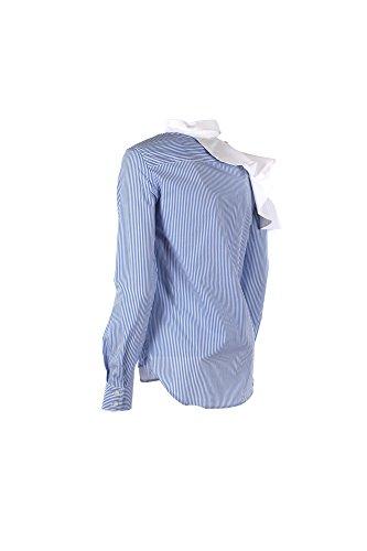 Mujer azul y48f 38 1g12z1 Camiseta Pinko Blanco qtgAnX