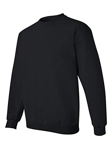 Gildan Men's Heavy Blend Crewneck Sweatshirt - XXXXX-Large - Black