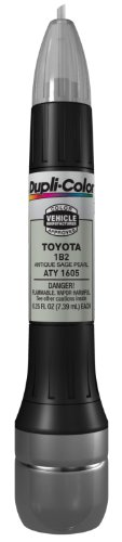 - Dupli-Color ATY1605 Antique Sage Pearl Toyota Exact-Match Scratch Fix All-in-1 Touch-Up Paint - 0.5 oz.