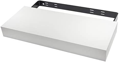 Federal Brace Designer Floating Shelf Proudly Made in America White, 40x10x3