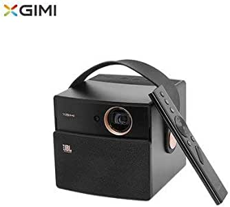XGIMI CC Aurora Mini Portable DLP Projector Home Theater, Smart Android OS Projector with 3 D Support 4K HD JBL Stereo WiFi Bluetooth (Aurora, Dark Knight)