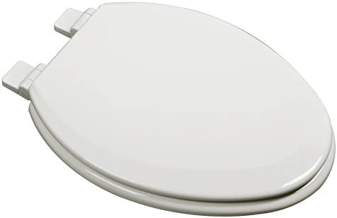 Bath Décor 1f1e7 02 Premium Molded Wood Elongated Toilet Seat With Slow Close Hinge Osg Biscuit Buy Online At Best Price In Uae Amazon Ae