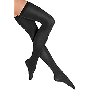 Wolford Women's Fatal 80 Seamless Stay-Up 80 den