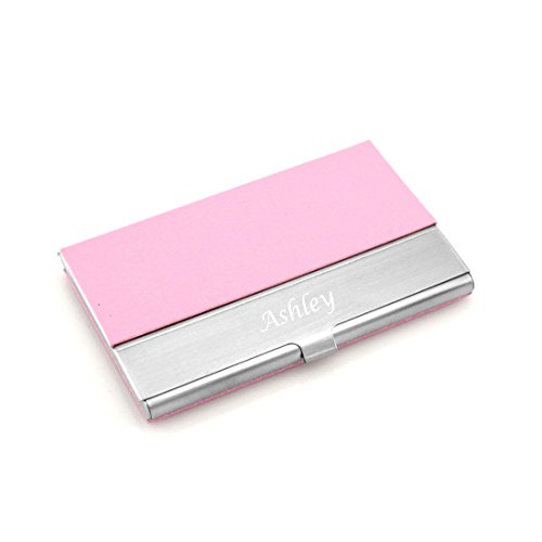 Lub pilates 30off bc 12 personalized quality pu leather business card holder free engraving reheart Gallery