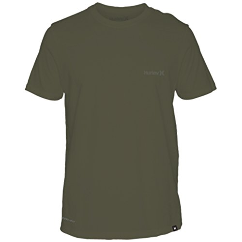 Hurley  Men's Dri-Fit One & Only 2.0 Tee Olive Canvas Medium by Hurley