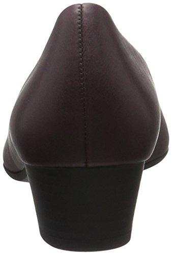 Gabor Shoes Comfort Fashion, Zapatos de Tacón para Mujer Rojo (dark-red 63)