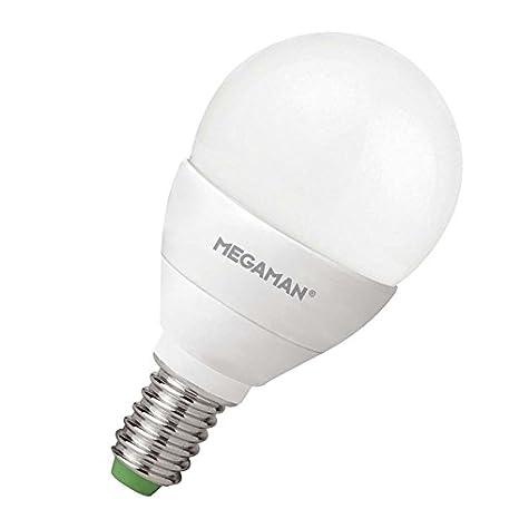 Bombillas de luz LED, E14/240/5W, gota, MEGAMAN sordo,: Amazon.es: Iluminación