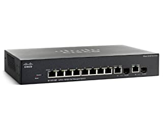 Cisco SF302-08P 8-Port 10/100 PoE Managed Switch with Gigabit Uplinks (SRW208P-K9-NA) (B004496TFS) | Amazon price tracker / tracking, Amazon price history charts, Amazon price watches, Amazon price drop alerts