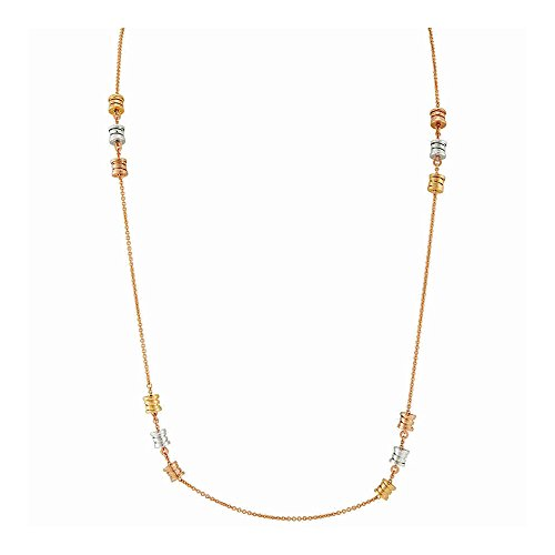Bvlgari - B.zero1 18K Rose Gold Sautoir (Bvlgari Rose Necklace)