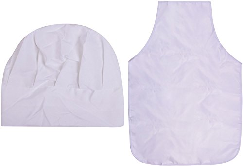[Halloween Cooking Chef Hat White Apron Cosplay Costume Halloween Accessories] (Maid Costume Party City)