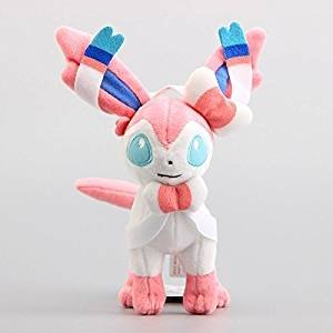 Sylveon Standing 9 Inch Toddler Stuffed Plush Kids Toys