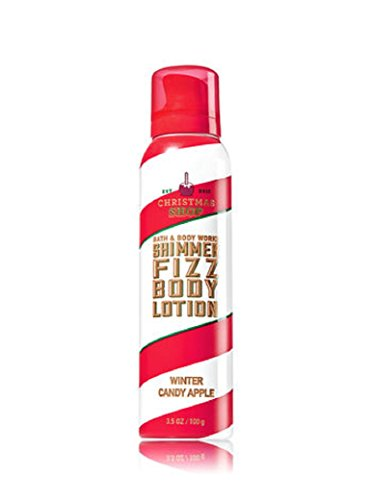 Bath & Body Works Shimmer Fizz Lotion Winter Candy ()