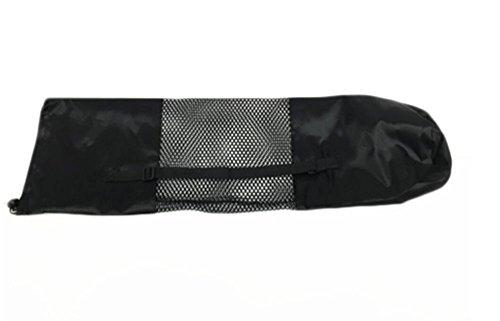 Yoga Mat Bag Portable Yoga Mat Bag Nylon Carrier Mesh Center Washable Adjustable Strap Totes