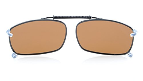 Eyekepper avec marron polarise les verre de large sur Marron soleil mm Neuf lunettes 58x38 rf0Rqr