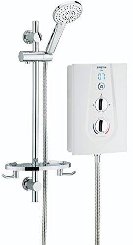 Bristan JOYT295 W 9.5 kW Joy 2 Thermosafe Electric Shower - White by Bristan