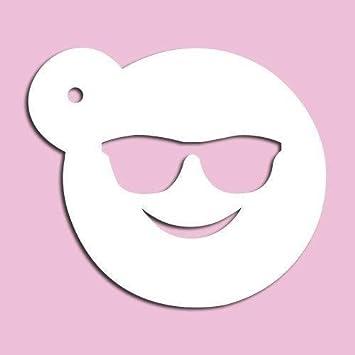 Gafas de sol Emoji diseño de 3,5 pulgadas: Amazon.es: Hogar