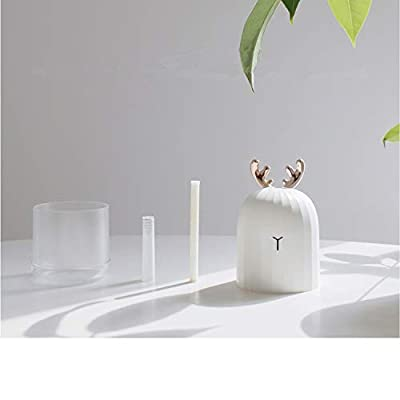 Pretty-sexy-toys 220ml White Deer Mini Air Humidifier Essential Oil Diffuser Aromatherapy Household Ultrasonic Humidifier USB Diffusers