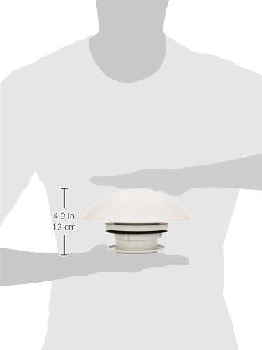 Brunner colore: grigio chiaro Aeratore tetto 12 Volt 206//904