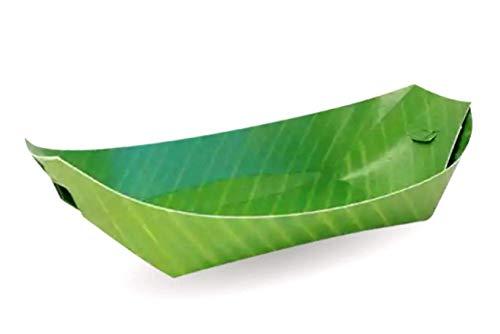 Thai Banana Paper - Banana Leaf Wrap Paper Plates Tray Dinner Party Kids Birthday Wedding Ship Decor Enjoy Entertain Event