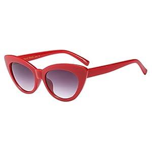 Limsea Hot Sale! Fashion Vintage Cat Eye Big Frame Sunglasses Retro Eyewear Fashion Ladies Man