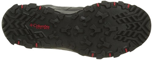 Columbia Peakfreak Xcrsn Ii Xcel Mid Outdry, Zapatos de High Rise Senderismo para Hombre Gris (City Grey, Bright Red 023City Grey, Bright Red 023)