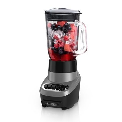 BLACK + DECKER PowerCrush Multi-Function Blender 700 watts with Quadpro blades