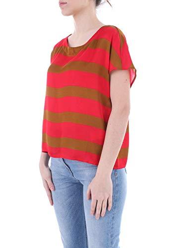 Grace shirt Femme C175vimd648 Rouge Manila Viscose T 5Rjc3ALq4