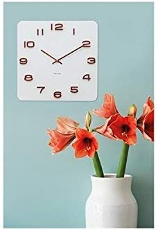 Karlsson Wall Clock White with Copper Numbers