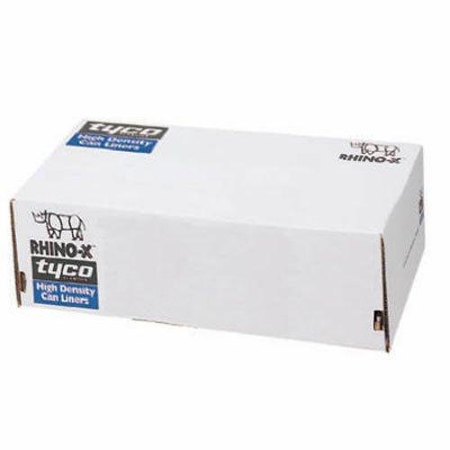 Berry Plastics HR303710N Rhino-X High Density Polyethylene Coreless Roll Can Liner, 20-30 gallon Capacity, 10 micron Thick, 37