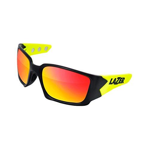 Lazer Eyewear Magneto M2 Sunglasses (MATTE BLACK FLASH - Sunglasses Face Lazer