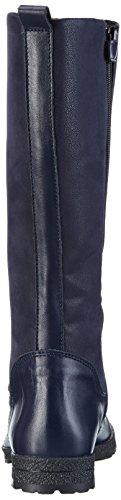 Richter Kinderschuhe Mädchen Iris Kurzschaft Stiefel Blau (atlantic 7200)