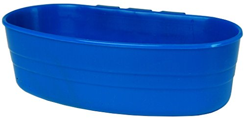 Little Giant Farm & Ag Miller Manufacturing ACU2BLUE 1-Pint Plastic Cage Cup, Blue