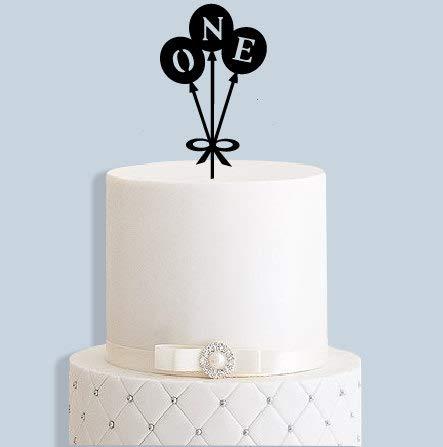 Decoración para tarta con diseño de globo de primer ...