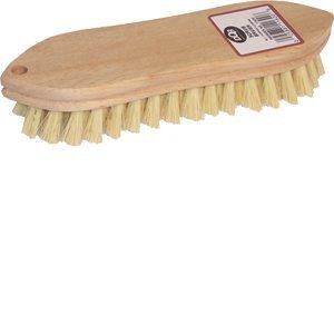 DQB Industries DQB 11620 9'' Tampico Pointed End Scrub Brush - 12ct. Case
