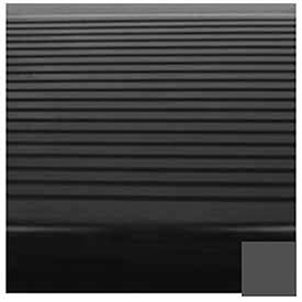 Black/Brown Stair Tread Rubber Square Nose 48