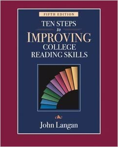 9781591940999: ten steps to improving college reading skills.