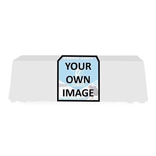 Personalized Econo Table Runner - Custom Print 2 ft. 4-Sided (Full Back)