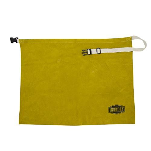 West Chester IRONCAT 7012 Heat Resistant Split Cowhide Leather Welding Waist Apron, 24