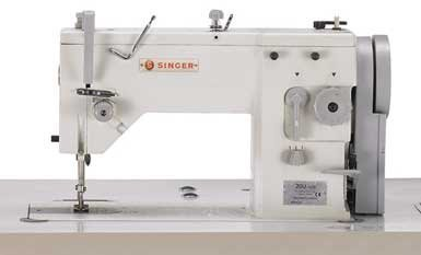 SINGER 20U109 Zig Zag Straight Reverse Industrial Sewing Machine incl. Table & Motor