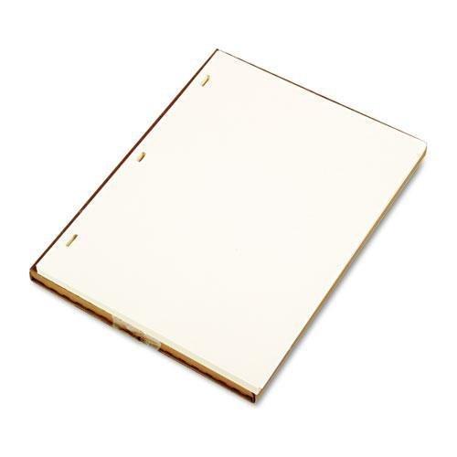 Wilson Jones 90110 Plain Ledger Paper, 11'' x8-1/2, 100/BX, Ivory Super Linen by Wilson Jones