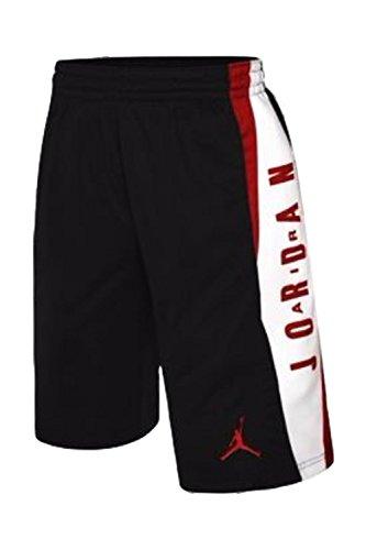 Jordan Boys Knit Takeover Shorts (Black, Large)