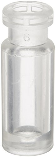 National Scientific C4011-24 Target Snap-It 11mm Crimp/Snap Vial, 1000µL Volume, 12mm D x 32mm H, Clear (Case of 1000) by National Scientific