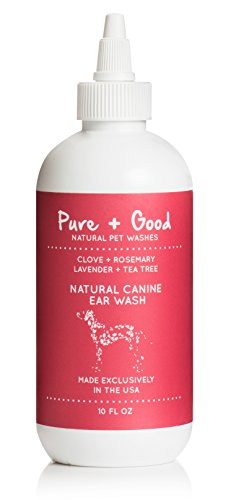 Pure + Good Canine Ear Wash, 10 oz. by Pure + Good