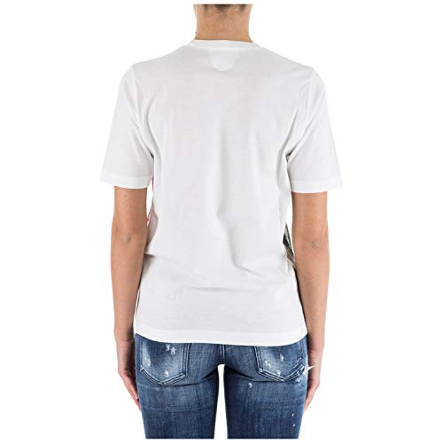 Dsquared2 Mujer Mujer Camiseta Dsquared2 Camiseta Bianco Bianco Bianco Mujer Dsquared2 Camiseta 0UwZqnFz