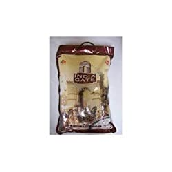 India Gate Parboiled Basmati Rice Bag, Golden Sella, 10 oz.