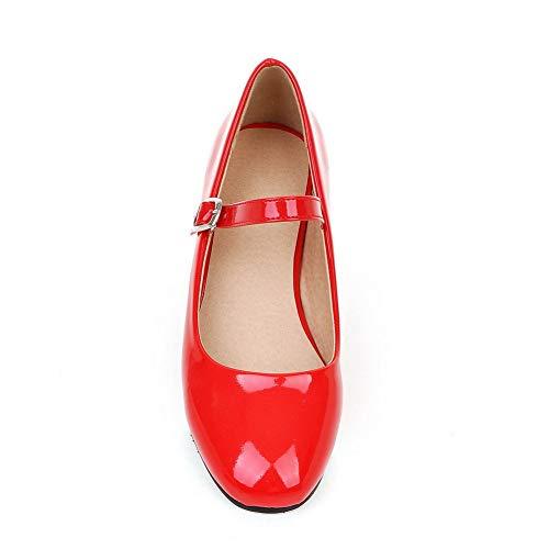 con BalaMasa APL10561 Zeppa Rosso Donna Red Sandali 35 E1Aqx1wPC