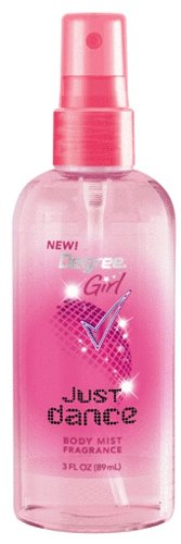 Degree Girls Body Mist, Just Dance, 3 Ounce (Pack of 6)