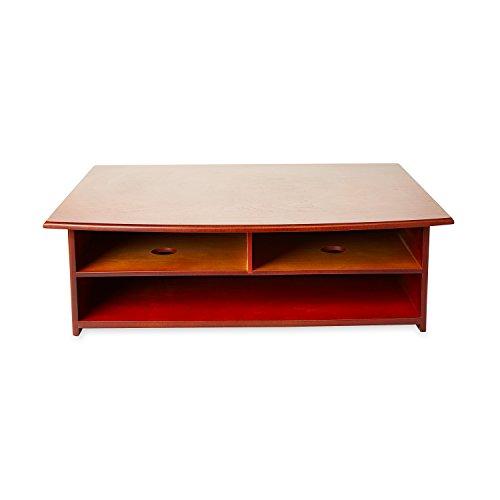 Rolodex Wood Tones Collection Printer Stand, Mahogany (82437)