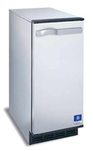 Manitowoc SM-50A 14 3/4' Air Cooled Undercounter Octagonal Cube Ice Machine with 25 lb. Bin - 53 lb.